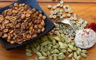 Кофе с кардамоном: рецепты арабского напитка с корицей, польза и вред разновидности из Израиля, как