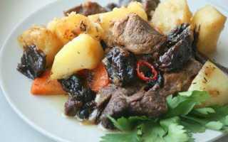 Тушеная в мультиварке баранина (10 фото): рецепты приготовления и тушения мяса с луком