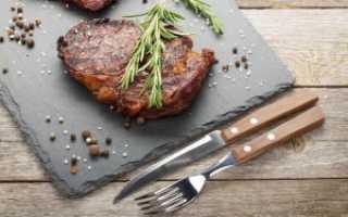 Стейк из телятины (11 фото): рецепты блюда на сковороде, в духовке и на гриле. Как приготовить мясо на электрогриле?