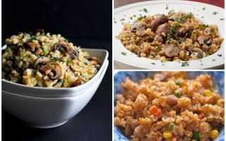 Рецепты приготовления бурого риса (19 фото): как вкусно приготовить крупу на гарнир, блюда из коричневого риса