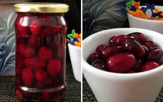 Маринованный кизил: рецепт маринада для кизила под оливки и по-азербайджански с лимонной кислотой