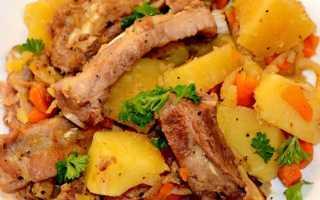 Рецепт телячьих ребрышек (10 фото): как приготовить тушеные ребра с картошкой в духовке, в мультиварке или на гриле?