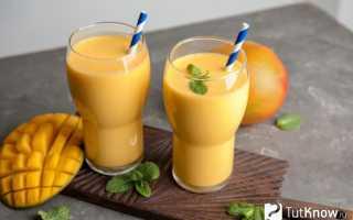 Смузи с мороженым: рецепты приготовления в блендере с добавлением молока, манго и других фруктов