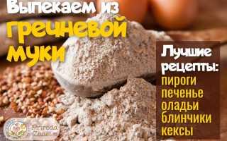 Рецепты из гречневой муки: какую выпечку можно приготовить, блюда с мукой из зеленой гречки, пироги