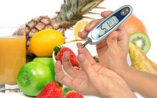 Какие овощи, фрукты и ягоды можно есть при сахарном диабете 2 типа? Список продуктов для