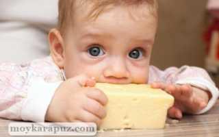 Когда можно давать ребенку сыр? С какого возраста вводить детский сыр малышу в рацион? Какие