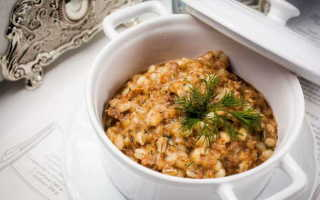 Рецепт перловой каши с тушенкой: как вкусно приготовить блюдо в домашних условиях, как варить крупу