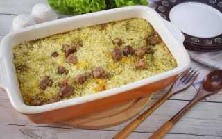 Рис в духовке (15 фото): вкусный рецепт запеченного блюда, как приготовить рис на противне пошагово