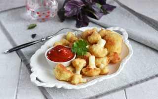 Цветная капуста в сухарях (25 фото): пошаговый рецепт овощей в панировке, приготовить на сковородке, как