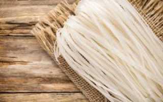 Рисовая вермишель: что это такое, польза и вред, как называется китайский продукт из риса и