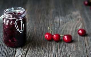 Джем из черешни: рецепты из плодов без косточек на зиму, как приготовить клубнично-черешневый джем с желатином