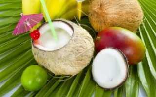Коктейль с кокосовым молоком: рецепты безалкогольных молочных коктейлей с кокосом и ананасовым соком, для тренировок и другие