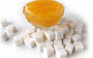 Калорийность меда: сколько калорий в 1 чайной ложке и на 100 грамм, БЖУ и гликемический индекс