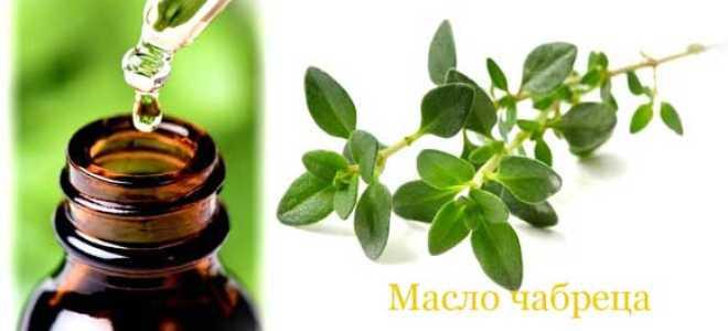 Эфирное масло чабреца: свойства и применение масла, отзывы