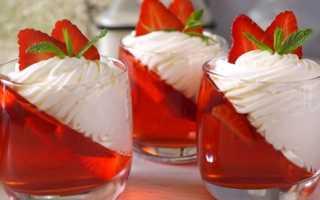 Желе из клубники на зиму: простые рецепты клубничного десерта из сока ягод
