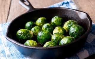 Брюссельская капуста: польза и вред для здоровья, сколько калорий в 100 граммах варёной, лечебные свойства