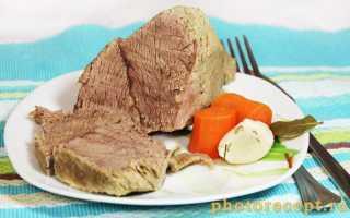 Отварная говядина (15 фото): рецепты приготовления копчено-вареного блюда из говяжьего мяса. Можно ли его хранить в холодильнике?