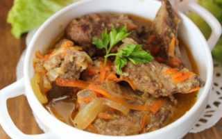 Сколько тушить говяжью печень? 36 фото Рецепты с луком, морковью и картошкой. Как долго готовить
