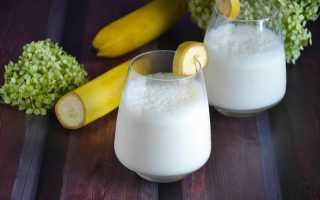 Молочные коктейли с бананом и мороженым: рецепты приготовления в блендере и без него в домашних