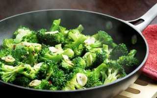 Как вкусно приготовить замороженную брокколи: как жарить на сковороде капусту, как правильно готовить блюда из овоща