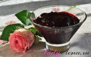 Варенье «пятиминутка» из ежевики: как сварить на зиму про рецепту ежевичное варенье с целыми ягодами?