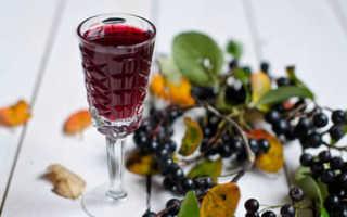 Вино из черноплодной рябины: простой способ приготовления домашней наливки – рецепт, польза черной рябины