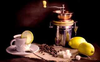 Кофе с лимоном: как называется и кому можно пить, польза и вред кофейного лимонада, рецепты