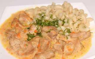 Гуляш из свинины в мультиварке (11 фото): рецепт блюда с подливкой. Как приготовить вкусный свиной