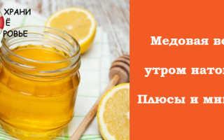 Вода с мёдом: плюсы и минусы от приема натощак по утрам, польза и вред продукта