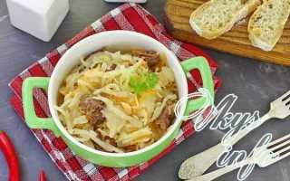 Тушеная квашеная капуста (34 фото): классический рецепт, по-немецки с мясом, как приготовить в мультиварке с картошкой