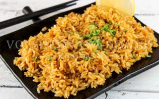 Жареный рис (24 фото): пошаговые рецепты приготовления на сковороде и в мультиварке, калорийность обжаренной крупы