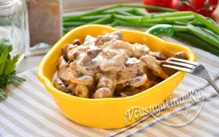 Бефстроганов из говядины (19 фото): классический рецепт блюда со сметаной. Как приготовить мясо с грибами, сливкам или сливочным соусом?