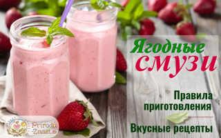 Фруктовые коктейли в блендере: рецепты приготовления с мороженым, ягодами и овощами в домашних условиях