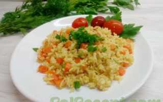 Рис на сковороде (8 фото): пошаговые рецепты, как пожарить вкусный рис с луком за 15 минут