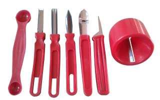 Нож для чистки овощей и фруктов: как пользоваться универсальным ножом для фигурной нарезки?