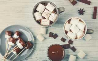Какао с маршмеллоу (17 фото): рецепт с зефиром и калорийность напитка, как правильно приготовить и пить