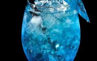 Рецепт безалкогольного коктейля голубого цвета: «Голубая лагуна» и молочный, состав. Как сделать в домашних условиях?