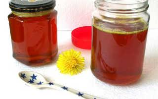 Мёд из одуванчиков (22 фото): пошаговый рецепт приготовления в домашних условиях, польза и вред