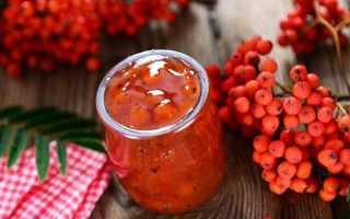 Варенье из красной рябины: простой рецепт приготовления из замороженной ягоды