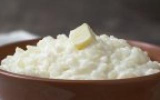 Калорийность рисовой каши на молоке: сколько калорий в молочном блюде с маслом и сахаром на