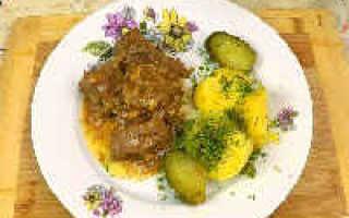 Рецепт говядины по-кремлевски (6 фото): пошаговое приготовление тушеного мяса в сливочном масле в скороварке