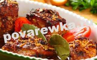 Свиные ребрышки в духовке (33 фото): простые рецепты приготовления блюда, как вкусно и сочно приготовить