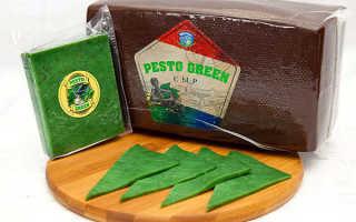 Зеленый сыр: состав сыра Песто, с чем его едят