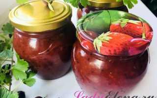 Варенье «пятиминутка» из крыжовника: простой рецепт варенья на зиму из красных и черных ягод