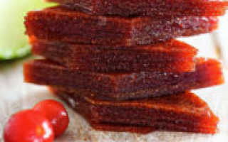 Пастила из вишни в домашних условиях: рецепты приготовления вишневых сладостей